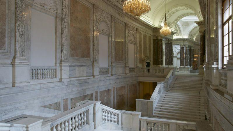 Prunkstiege in der Hofburg