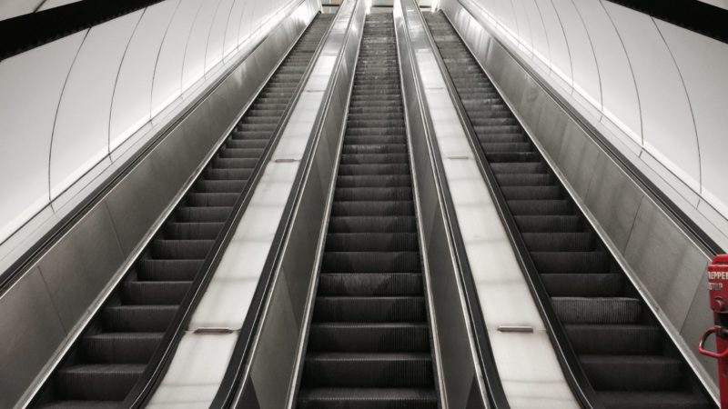 U-Bahn-Rolltreppe